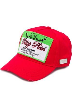 Philipp Plein Caps - Logo patch baseball cap