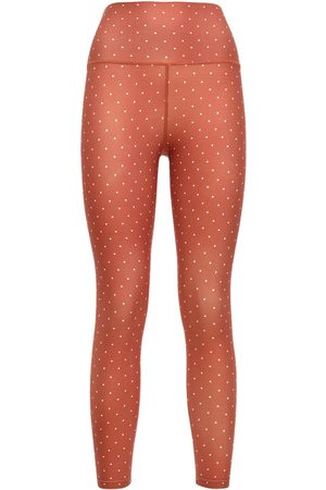 WeWoreWhat High Waist Polka Dot Leggings