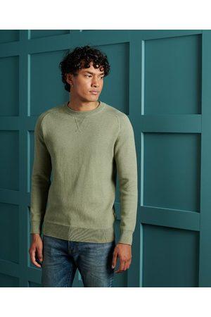 Superdry Men Sweatshirts - Essential Cotton Crew Sweatshirt