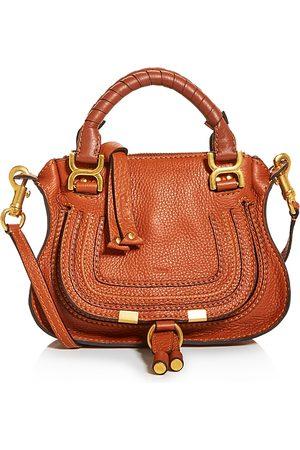 Chloé Marcie Mini Leather Crossbody Satchel