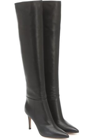 Gianvito Rossi Knee-high leather boots