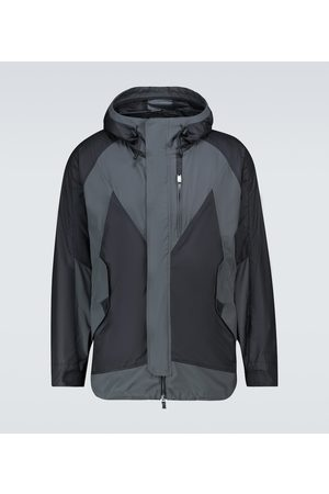 LARDINI Hooded windbreaker