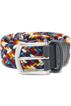 Anderson's Men Belts - Woven Elasticated Belt - Mens - Multi