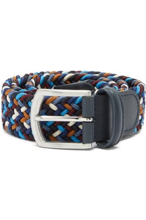 Anderson's Men Belts - Woven Elasticated Belt - Mens - Multi