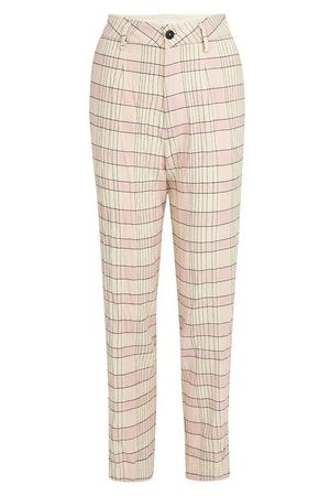 FORTE FORTE Women Pants - Tartan pants
