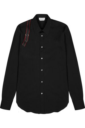 Alexander McQueen Harness cotton shirt