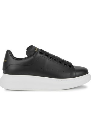 Alexander McQueen Women Sneakers - Larry leather sneakers