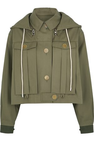 Loewe Army hooded cotton jacket
