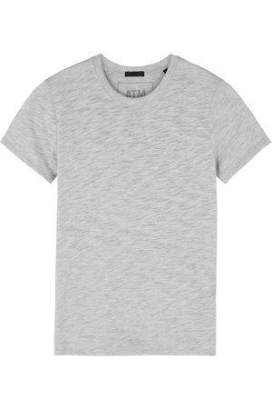 ATM Anthony Thomas Melillo Schoolboy grey mélange jersey T-shirt