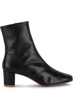 By Far Sofia 65 leather ankle boots