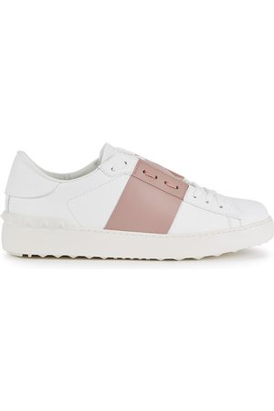 VALENTINO Garavani Open white leather sneakers
