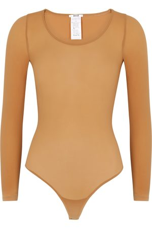 Wolford Buenos Aires caramel bodysuit