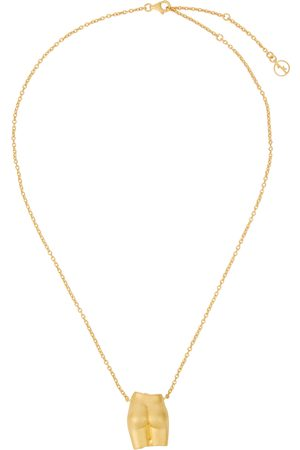Anissa Kermiche Le Derriere 18kt -plated necklace