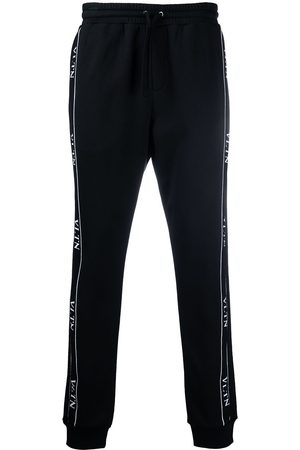 VALENTINO Logo tape track trousers