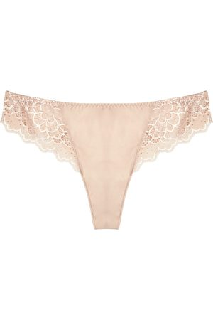 Simone Pérèle Caresse blush lace thong