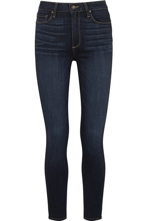 Paige Hoxton Ankle indigo skinny jeans
