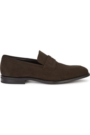 Church's Parham dark suede loafers