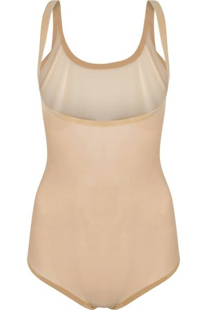 Wolford Control Forming almond tulle bodysuit