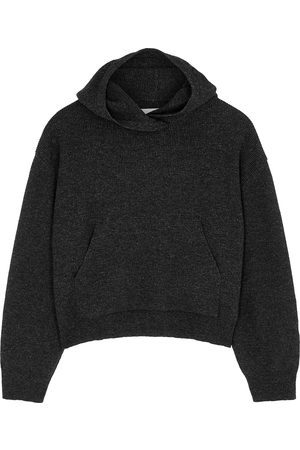 Nanushka Mog charcoal wool-blend sweatshirt