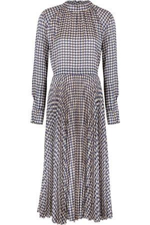 Birgitte Herskind Nima houndstooth-print midi dress