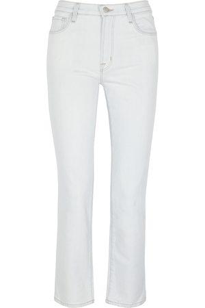 J Brand Adele pale straight-leg jeans