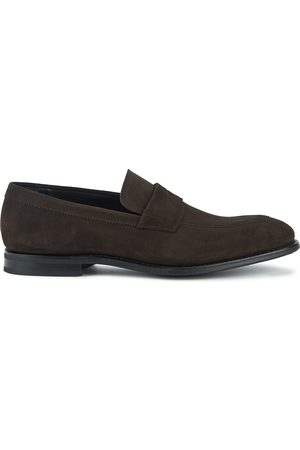 Church's Men Loafers - Parham dark suede loafers