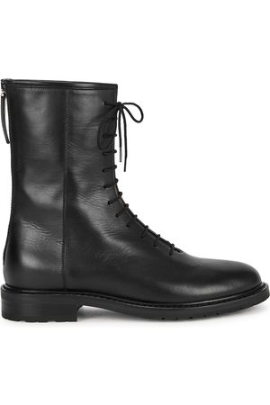LEGRES Leather ankle boots