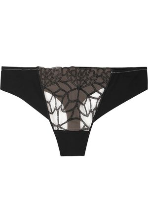 Simone Pérèle Java embroidered thong