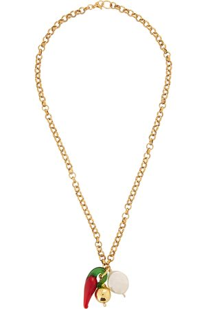 SANDRALEXANDRA Chunky chain -plated necklace