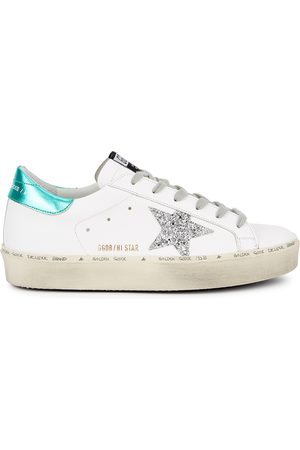 Golden Goose Hi Star leather flatform sneakers