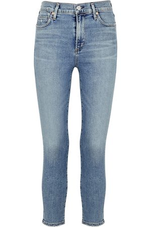 Citizens of Humanity Rocket light cropped skinny jeans