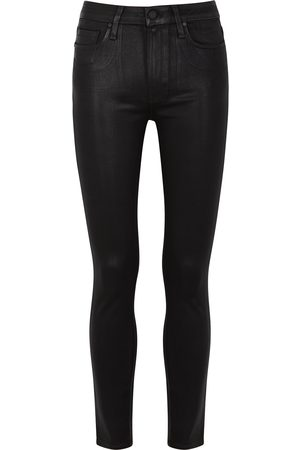 Paige Hoxton Ankle coated skinny jeans