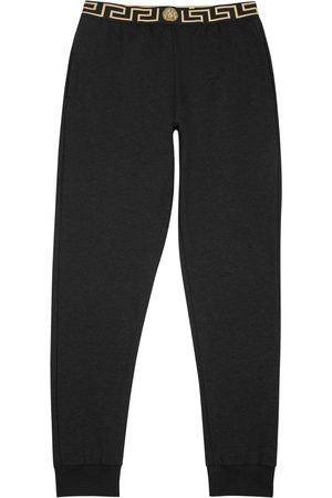 VERSACE Modal blend jogging trousers
