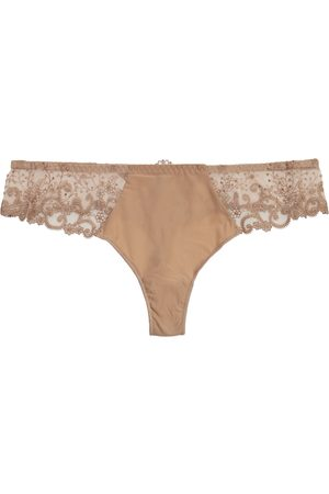 Simone Pérèle Delice embroidered thong