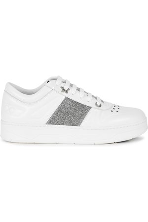 Jimmy Choo Women Sneakers - Hawaii leather sneakers