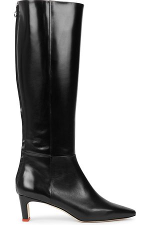 Aeyde Sidney 50 leather knee-high boots