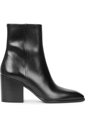 Aeyde Leandra 80 leather ankle boots