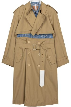 1/OFF Paris Levi's X Yves Saint Laurent panelled trench coat