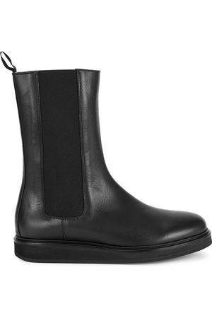 LEGRES Leather Chelsea boots