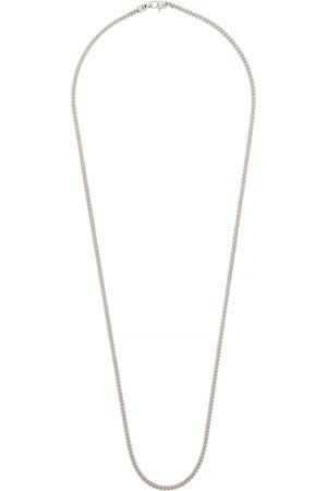 TOM WOOD Curb M sterling chain necklace
