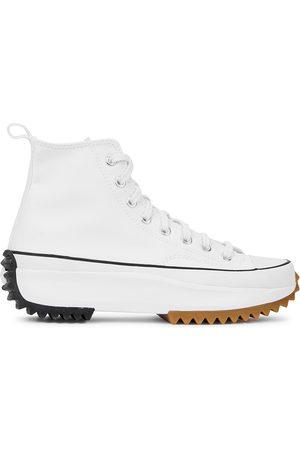 Converse Run Star canvas hi-top sneakers