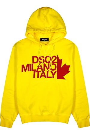 Dsquared2 Logo hooded cotton sweatshirt