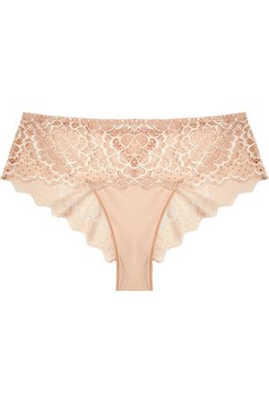 Simone Pérèle Caresse blush lace briefs