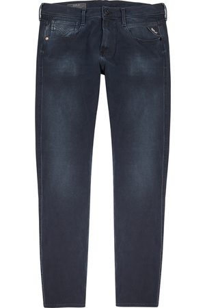 Replay Anbass Hyperflex dark slim-leg jeans