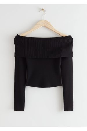 & OTHER STORIES Fitted Off Shoulder Rib Top