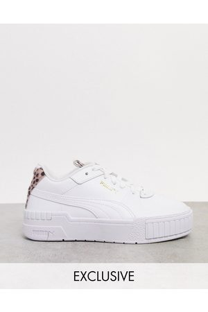 PUMA Cali Sport sneakers in with cheetah detail - exclusive to ASOS