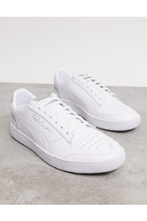 PUMA Ralph Sampson sneakers in and silver