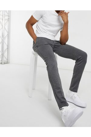 Jack & Jones Intelligence slim fit jersey pants in