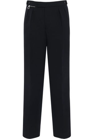 RAF SIMONS Ceremonial Wide Leg Wool Pants