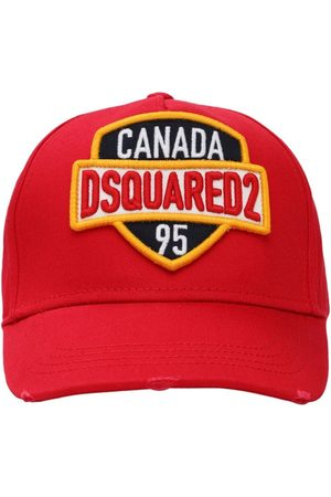Dsquared2 Canada Patch Cotton Canvas Baseball Hat